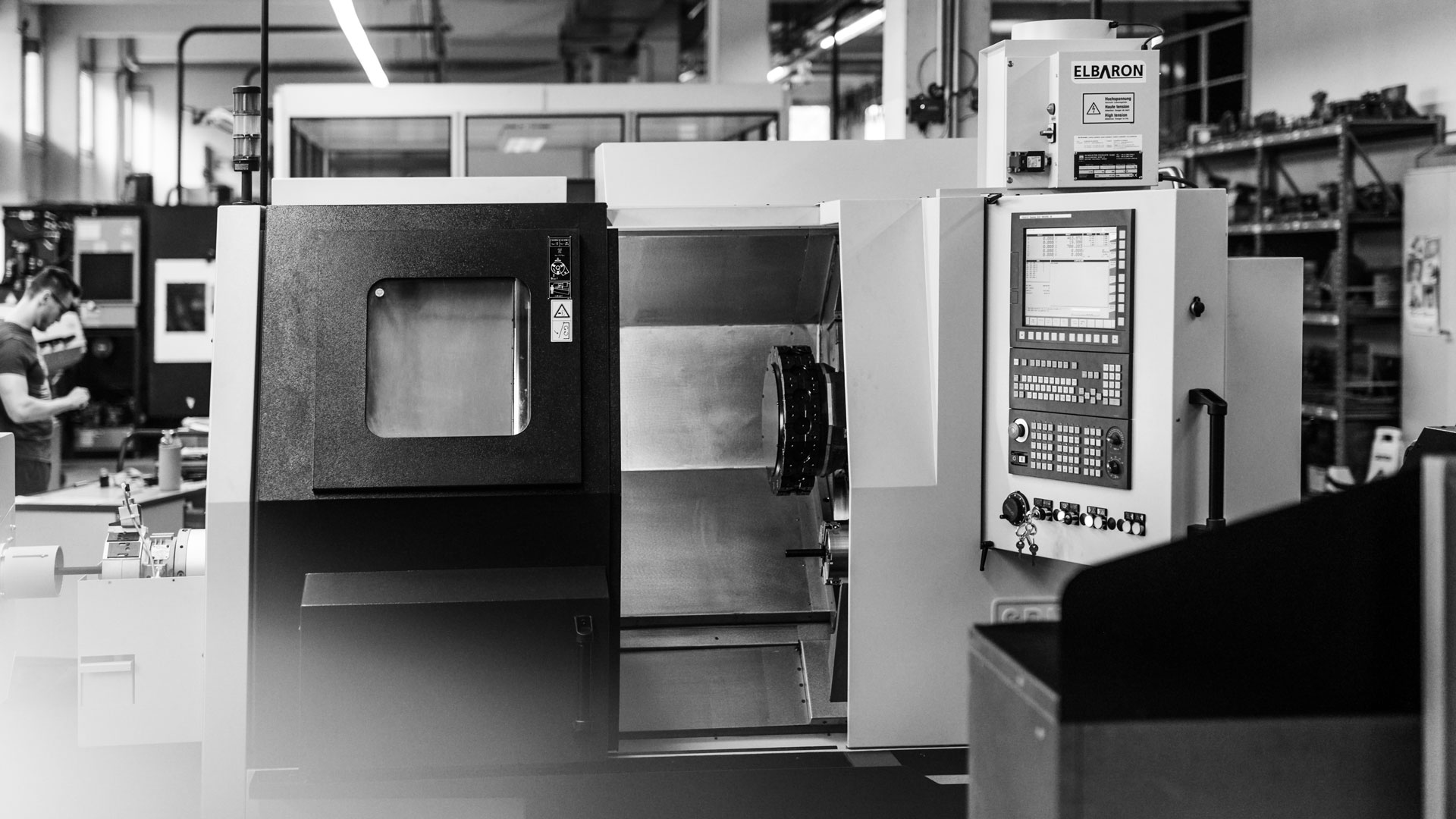 Einblick in die Produktionsstätte / Maschine